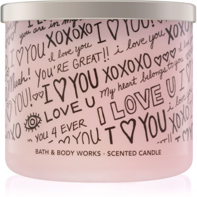 Bath & Body Works Honeysuckle Bouquet candela profumata  edizione limitata