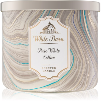 Bath & Body Works Pure White Cotton bougie parfumée 411 g