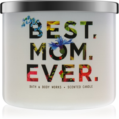 Bath & Body Works Fresh Cut Lilacs Scented Candle  Limited Edition Best. Mom. Ever.