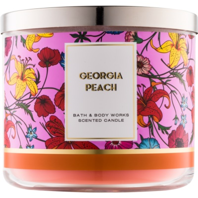 Bath & Body Works Georgia Peach Scented Candle