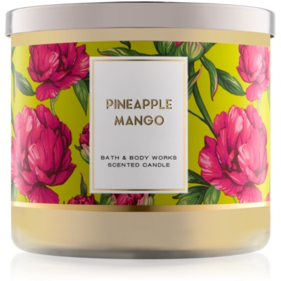 Bath & Body Works Pineapple Mango dišeča sveča