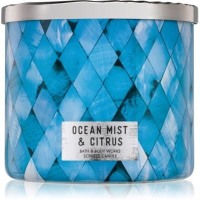 Bath & Body Works Ocean Mist & Citrus ароматна свещ  411 гр.