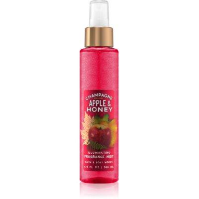 tělový sprej pro ženy 146 ml třpytivý