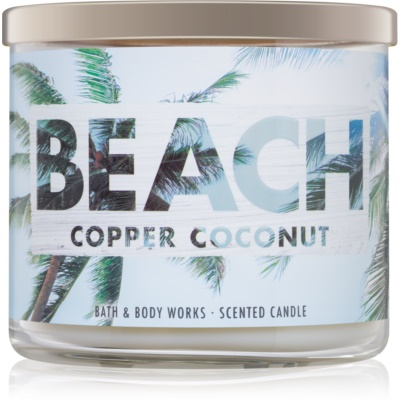 Bath & Body Works Beach Copper Coconut Scented Candle