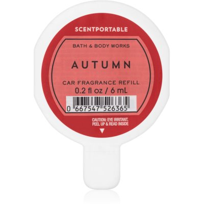 Bath & Body Works Autumn Auto luchtverfrisser   Vervangende Vulling