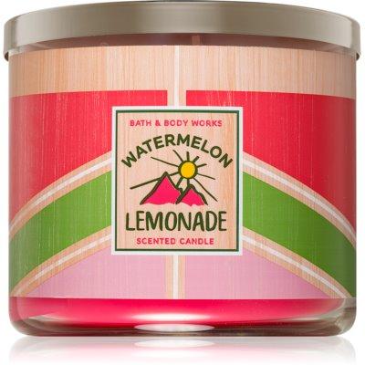 Bath & Body Works Watermelon Lemonade Geurkaars  I.