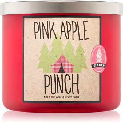 Bath & Body Works Pink Apple Punch Scented Candle
