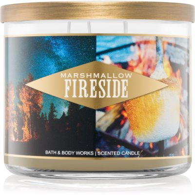 Bath & Body Works Marshmallow Fireside candela profumata  I.