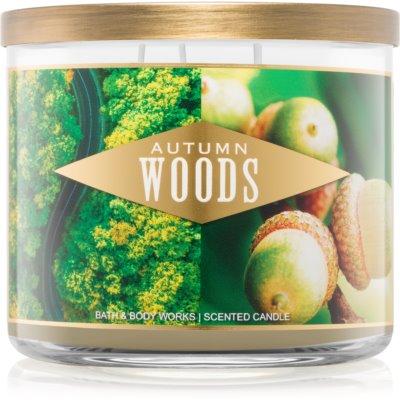Bath & Body Works Autumn Woods Scented Candle  III.