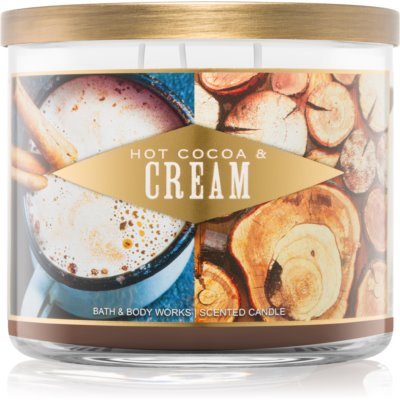Bath & Body Works Hot Cocoa & Cream Αρωματικό κερί 411 γρ I.
