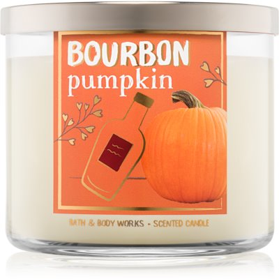 Bath & Body Works Bourbon Pumpkin ароматна свещ  411 гр.