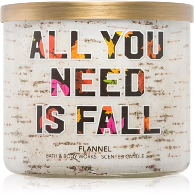 Bath & Body Works Flannel Scented Candle