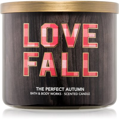 Bath & Body Works Perfect Autumn ароматна свещ  411 гр.