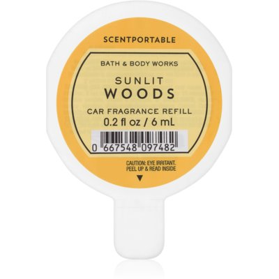 Bath & Body Works Sunlit Woods car air freshener