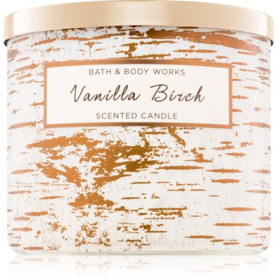 Bath & Body Works Vanilla Birch Scented Candle