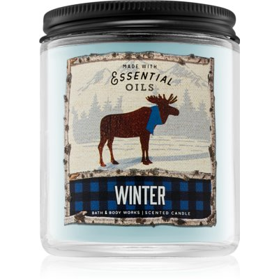 Bath & Body Works Winter Duftkerze   I.