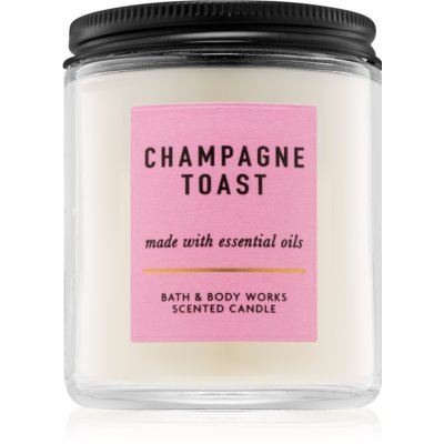 Bath & Body Works Champagne Toast bougie parfumée  II.