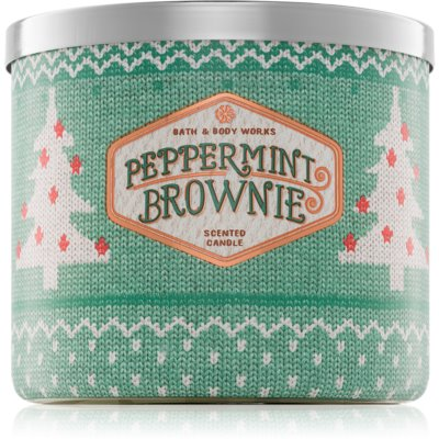 Bath & Body Works Peppermint Brownie dišeča sveča