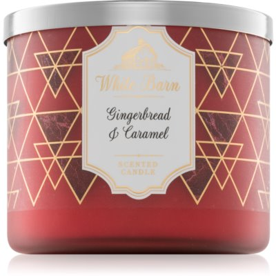 Bath & Body Works Gingerbread & Caramel vela perfumada