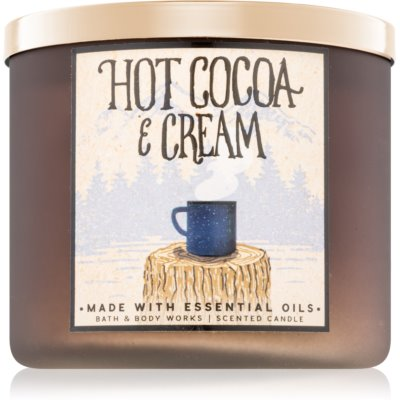 Bath & Body Works Hot Cocoa & Cream vonná svíčka  II.