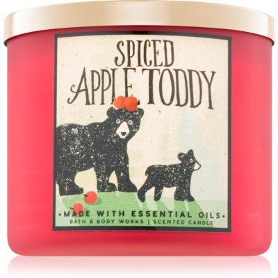 Bath & Body Works Spiced Apple Toddy vela perfumada   I.