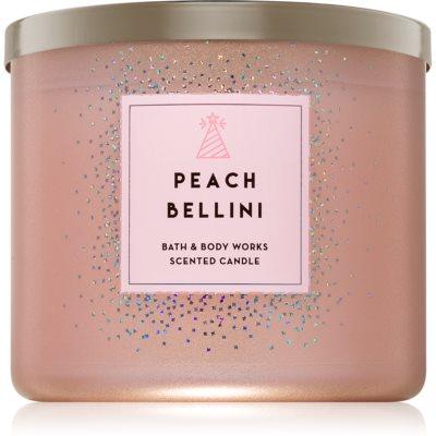 Bath & Body Works Peach Bellini mirisna svijeća 411 g