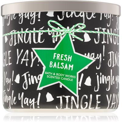 Bath & Body Works Fresh Balsam bougie parfumée  IV.