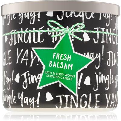 Bath & Body Works Fresh Balsam bougie parfumée  IV.