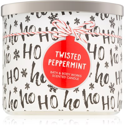 Bath & Body Works Twisted Peppermint vela perfumada   II.