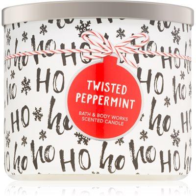 Bath & Body Works Twisted Peppermint vela perfumada   II.