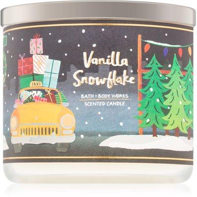 Bath & Body Works Vanilla Snowflake Duftkerze  411 g