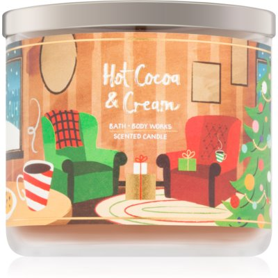 Bath & Body Works Hot Cocoa & Cream lumânare parfumată   V.