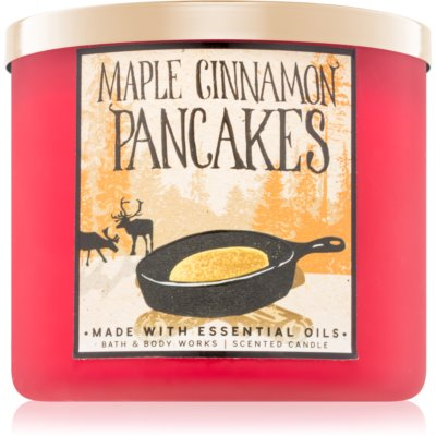 Bath & Body Works Maple Cinnamon Pancakes αρωματικό κερί