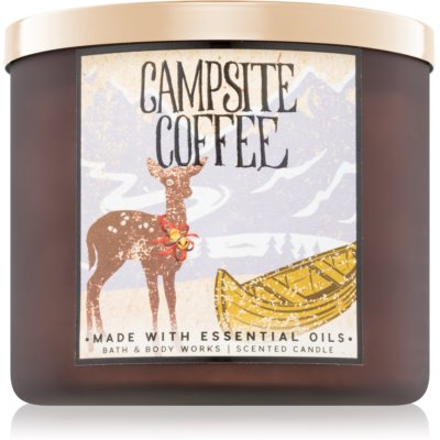 Bath & Body Works Campsite Coffee vela perfumada