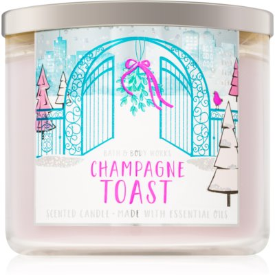 Bath & Body Works Champagne Toast Scented Candle  III.