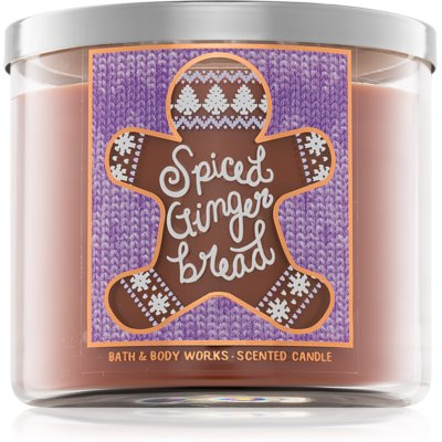 Bath & Body Works Spiced Gingerbread Scented Candle