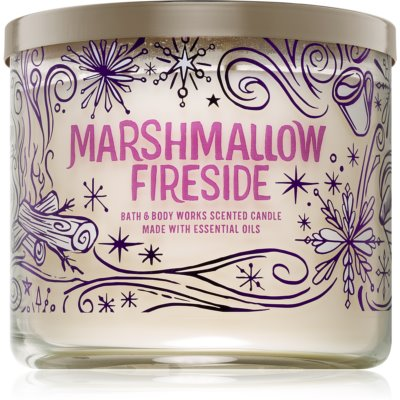 Bath & Body Works Marshmallow Fireside vela perfumada