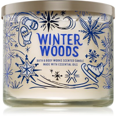 Bath & Body Works Winter Woods scented candle