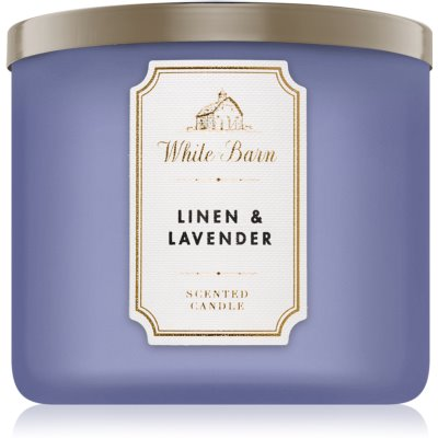 Bath & Body Works Linen & Lavender bougie parfumée