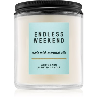 Bath & Body Works Endless Weekend vonná sviečka 198 g I.