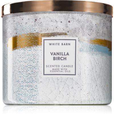 Bath & Body Works Vanilla Birch bougie parfumée
