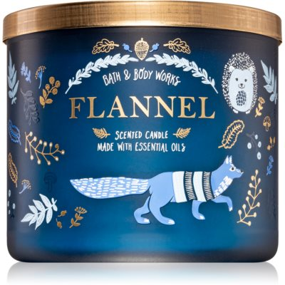 Bath & Body Works Flannel scented candle I.