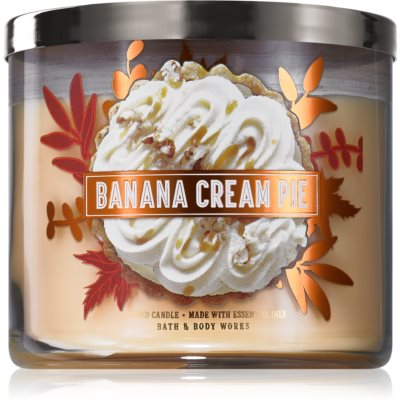 Bath & Body Works Banana Cream Pie bougie parfumée