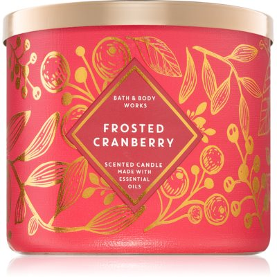 Bath & Body Works Frosted Cranberry scented candle II.