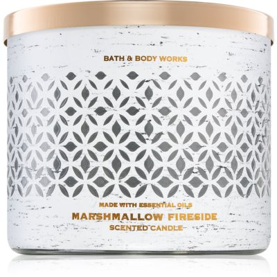 Bath & Body Works Marshmallow Fireside geurkaars I.