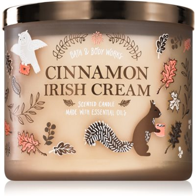 Bath & Body Works Cinnamon Irish Cream bougie parfumée