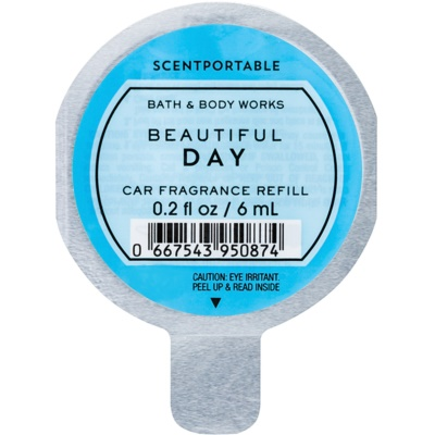 Bath & Body Works Beautiful Day Car Air Freshener  Refill