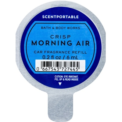 Bath & Body Works Crisp Morning Air ambientador auto  recarga de substituição