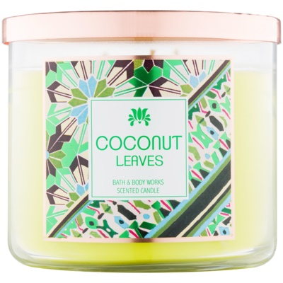 Bath & Body Works Coconut Leaves vonná svíčka