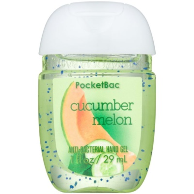 Bath & Body Works PocketBac Cucumber Melon антибактериален гел за ръце